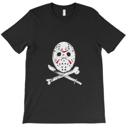Hockey Mask T-shirt Designed By Tee Shop