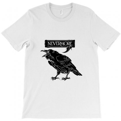 Nevermore Raven T-shirt Designed By Tee Shop