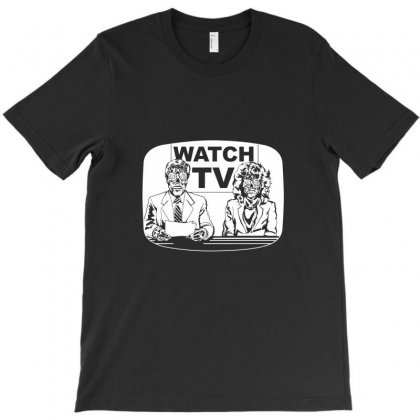 They Live On Tv T-shirt Designed By Tee Shop