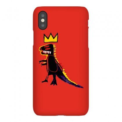 Basquiat Dinosaur Iphonex Case Designed By Artwoman