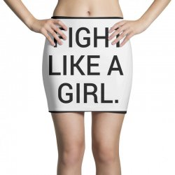fight like a girl Mini Skirts | Artistshot