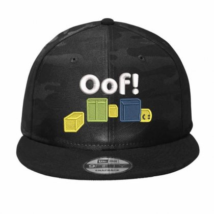 Oof Embroidered Hat Camo Snapback Designed By Madhatter