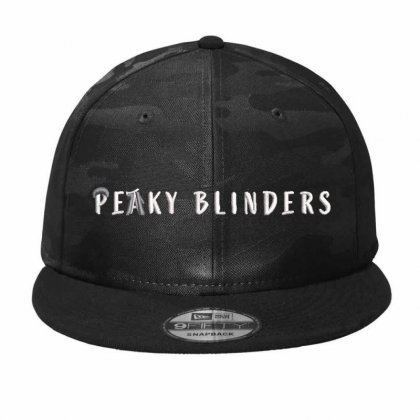 Peaky Blinders Embroidered Hat Camo Snapback Designed By Madhatter