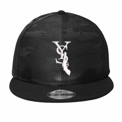 Y S  Embroidered Camo Snapback Designed By Madhatter