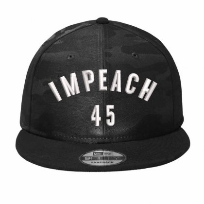 Impeach 45 Hat  Embroidered Camo Snapback Designed By Madhatter