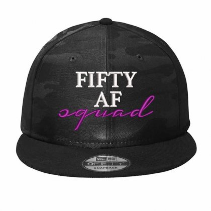 Fıfty Af Squad Embroidered Camo Snapback Designed By Madhatter