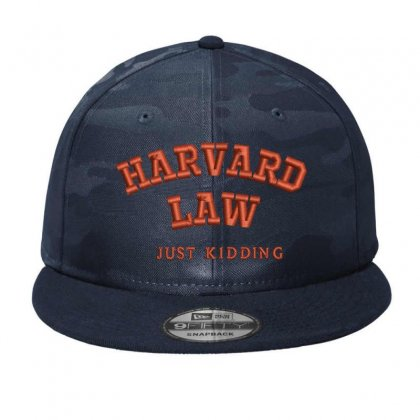 Harvard Law Embroidered Camo Snapback Designed By Madhatter