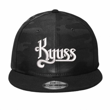 Kyuss Hat Embroidered Camo Snapback Designed By Madhatter