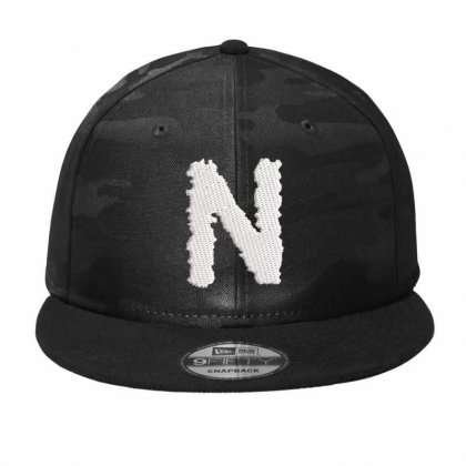N Hat Embroidered Camo Snapback Designed By Madhatter
