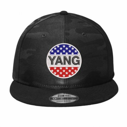 Star Yang Embroidered Camo Snapback Designed By Madhatter