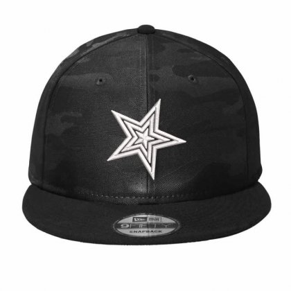 Star Embroidered Hat Camo Snapback Designed By Madhatter