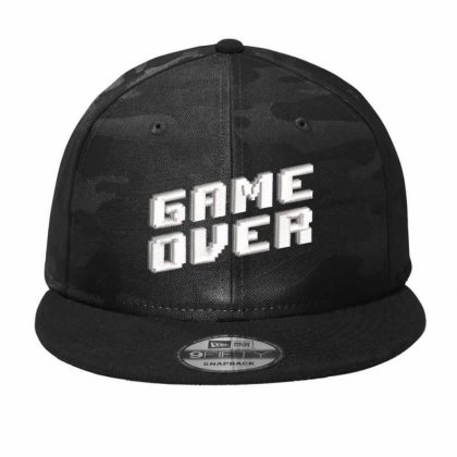 Game Over Camo Snapback Designed By Madhatter