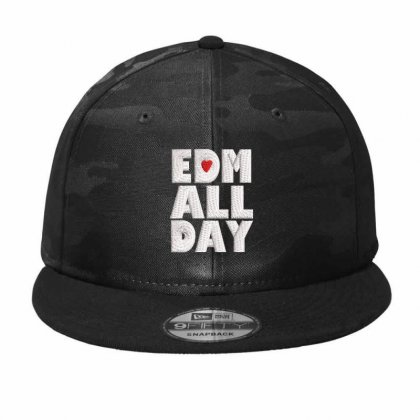 All Day Embroidered Hat Camo Snapback Designed By Madhatter