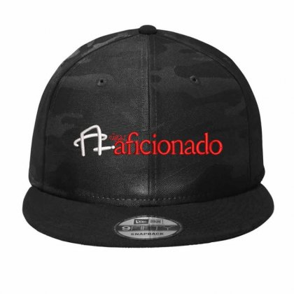 Aficionado Embroidered Hat Camo Snapback Designed By Madhatter