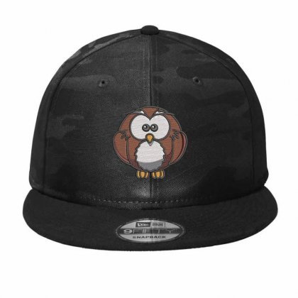 Owl Embroidered Camo Snapback Designed By Madhatter