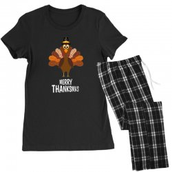 thanksgiving merry thanksmas Women's Pajamas Set | Artistshot