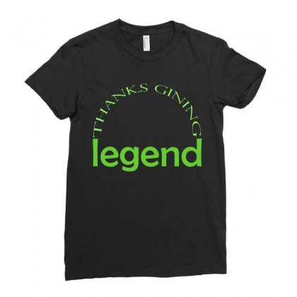 Legend T-shirts Ladies Fitted T-shirt Designed By Cikhe