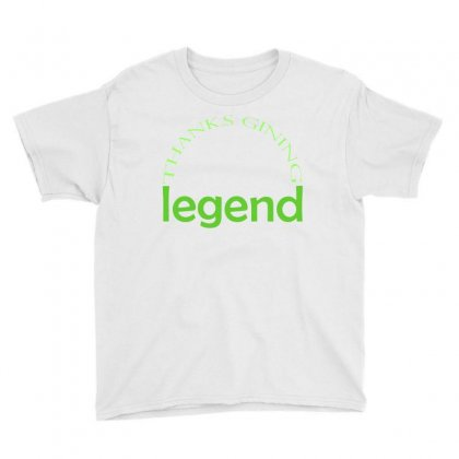 Legend T-shirts Youth Tee Designed By Cikhe