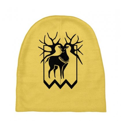 Golden Deer Merch Baby Beanies Designed By Oktaviany