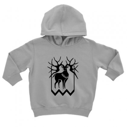 Golden Deer Merch Toddler Hoodie Designed By Oktaviany