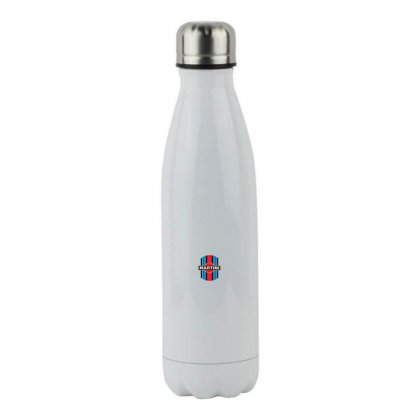 Martini Racing Retro Stainless Steel Water Bottle Designed By Oktaviany