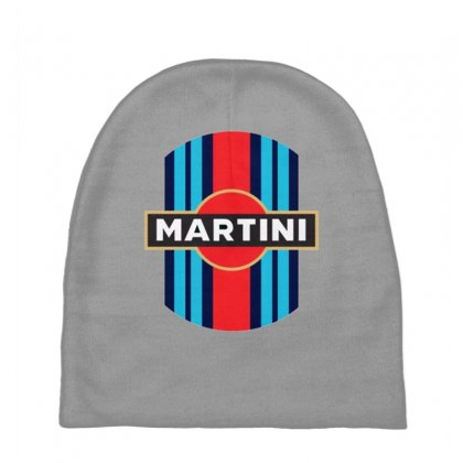 Martini Racing Retro Baby Beanies Designed By Oktaviany