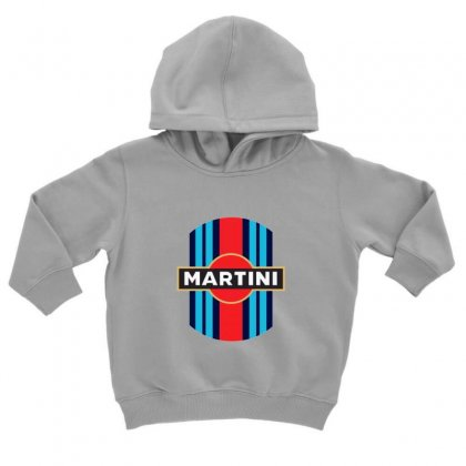Martini Racing Retro Toddler Hoodie Designed By Oktaviany