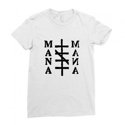 Mana Band Logo Ladies Fitted T-shirt Designed By Oktaviany