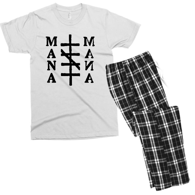 Mana Band Logo Men's T-shirt Pajama Set | Artistshot