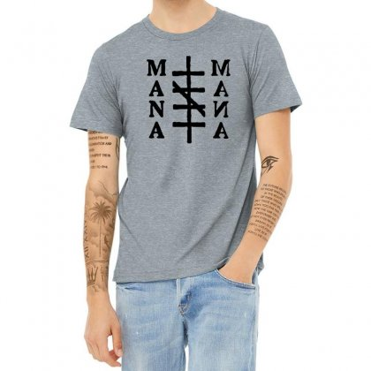 Mana Band Logo Heather T-shirt Designed By Oktaviany