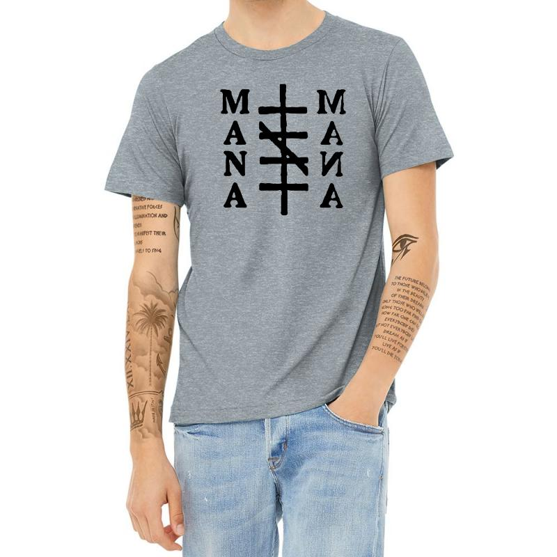 Mana Band Logo Heather T-shirt | Artistshot