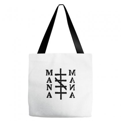 Mana Band Logo Tote Bags Designed By Oktaviany