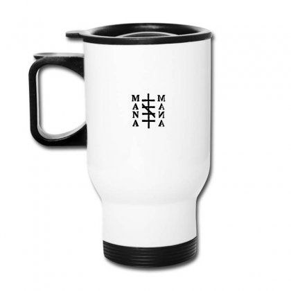 Mana Band Logo Travel Mug Designed By Oktaviany