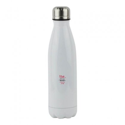 Pink Beautiful Trauma Stainless Steel Water Bottle Designed By Oktaviany
