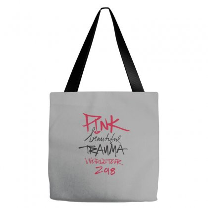 Pink Beautiful Trauma Tote Bags Designed By Oktaviany