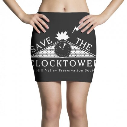 Save The Clock Tower Merch Mini Skirts Designed By Oktaviany