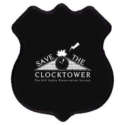 Save The Clock Tower Merch Shield Patch Designed By Oktaviany