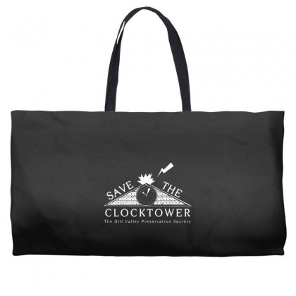 Save The Clock Tower Merch Weekender Totes Designed By Oktaviany