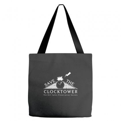 Save The Clock Tower Merch Tote Bags Designed By Oktaviany