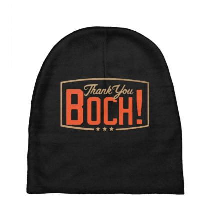 Thank You Boch Logo Baby Beanies Designed By Oktaviany