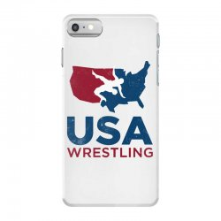 usa wrestling vintage iPhone 7 Case | Artistshot