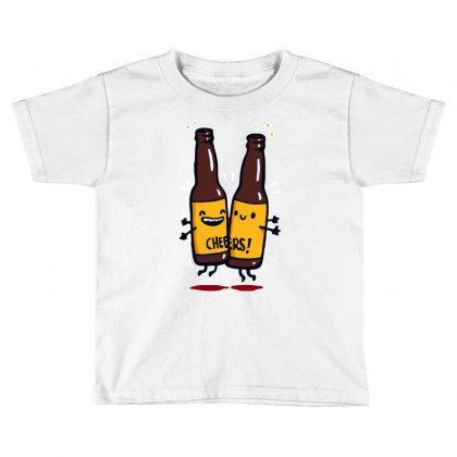 Chest Bump! Toddler T-shirt Designed By Achreart