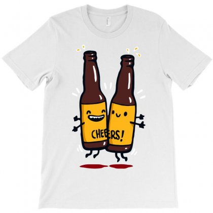 Chest Bump! T-shirt Designed By Achreart