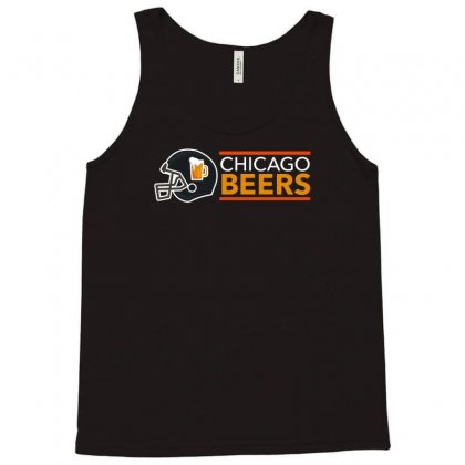 Chicago Beers Tank Top Designed By Achreart