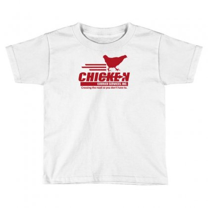 Chicken Courier Services Toddler T-shirt Designed By Achreart