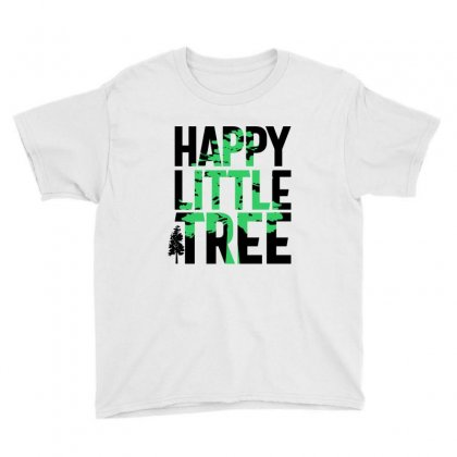 Happy Little Tree T-shirts Youth Tee Designed By Cidolopez