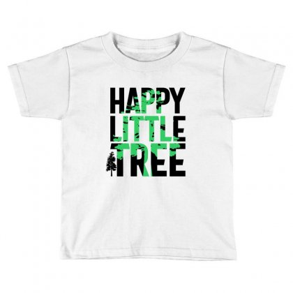 Happy Little Tree T-shirts Toddler T-shirt Designed By Cidolopez