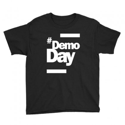 Demo Day - Hashtag Demoday T-shirt Youth Tee Designed By Cidolopez