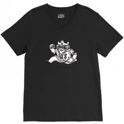 the burglar king V-Neck Tee | Artistshot