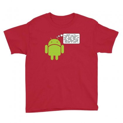 Android Paranoia Youth Tee Designed By Platinumshop